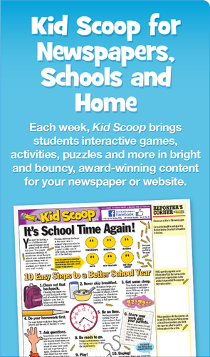 Kid Scoop Activity Pages