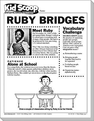 Ruby Bridges | Kid Scoop
