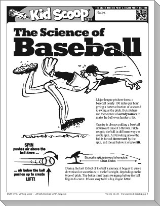 aerodynamics of a baseball Where some see a simple game of balls and bats, scientists see an incredibly complex interplay of aerodynamics and kinematics, with results that not even einstein could have predicted.