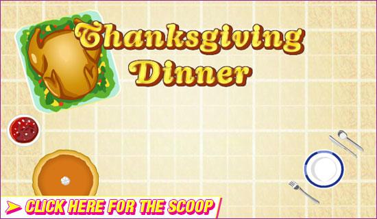 Thanksgiving Dinner Challenge Kid Scoop